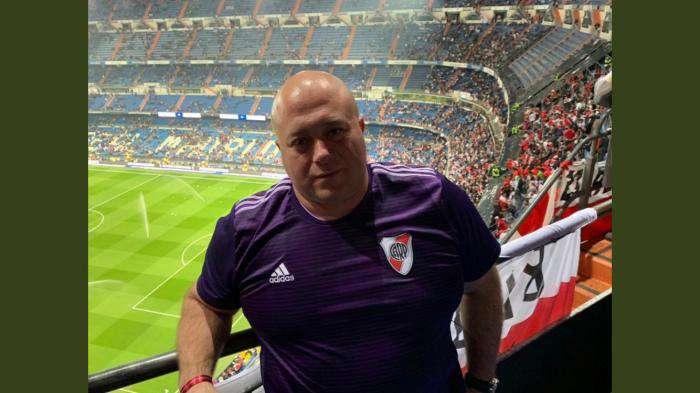 Antonio Caselli en una imagen de su perfil de Twitter