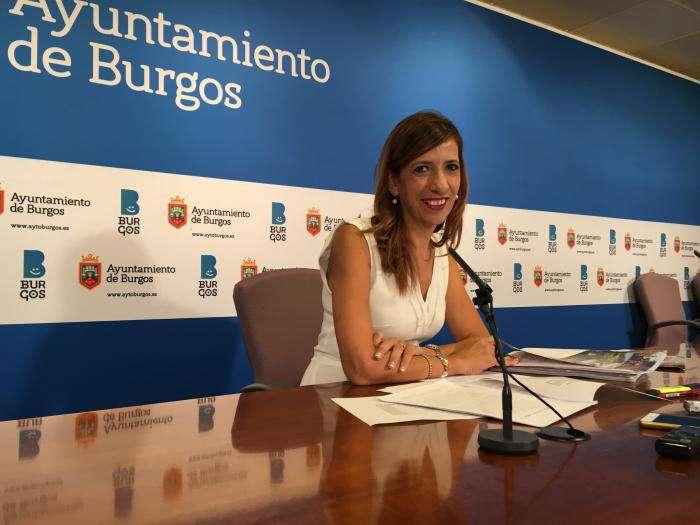 Nuria Barrio, portavoz del equipo de Gobierno local en el Ayuntamiento de Burgos