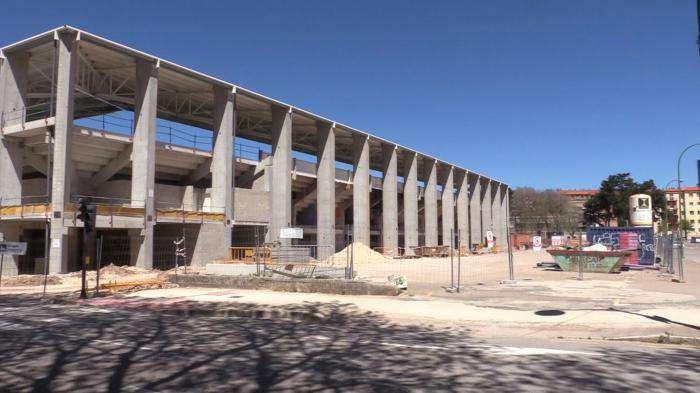 Estadio municipal de 'El Plantío'