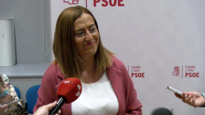 Virginia Barcones, vicesecretaria general del PSCyL