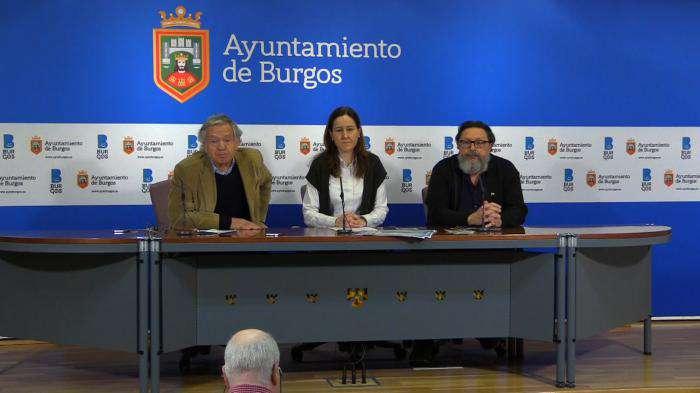Luis Escribano, Gema Conde y Carlos Sierra