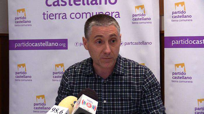 Domingo Hernández, presidente del PCAS de Burgos