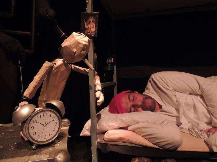 Un instante de la obra 'Soñanado a Pinocho'