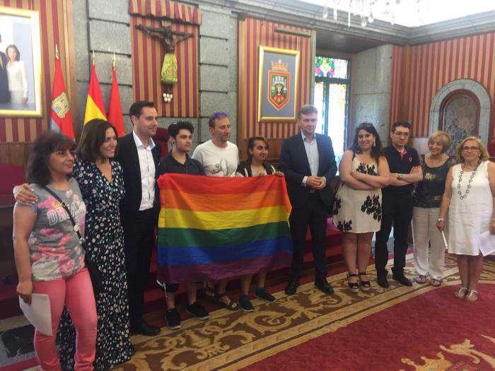 Acto institucional del Orgullo Gay en Burgos del 2019