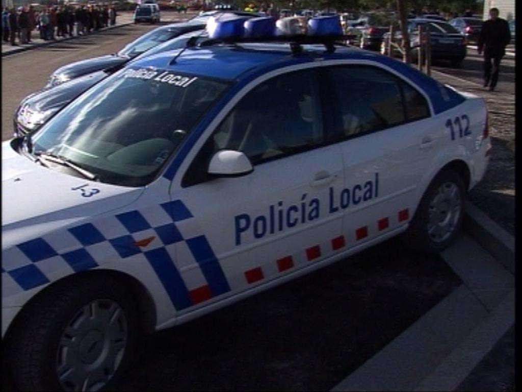 policía local, coche, 112 2